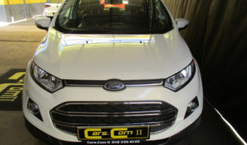 2017 FORD ECOSPORT 1.5 TIVCT TITANIUM P/SHIFT R269 995. full