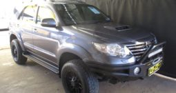 2013 TOYOTA FORTUNER 3.0 D-4D R/B A/T R299 995.